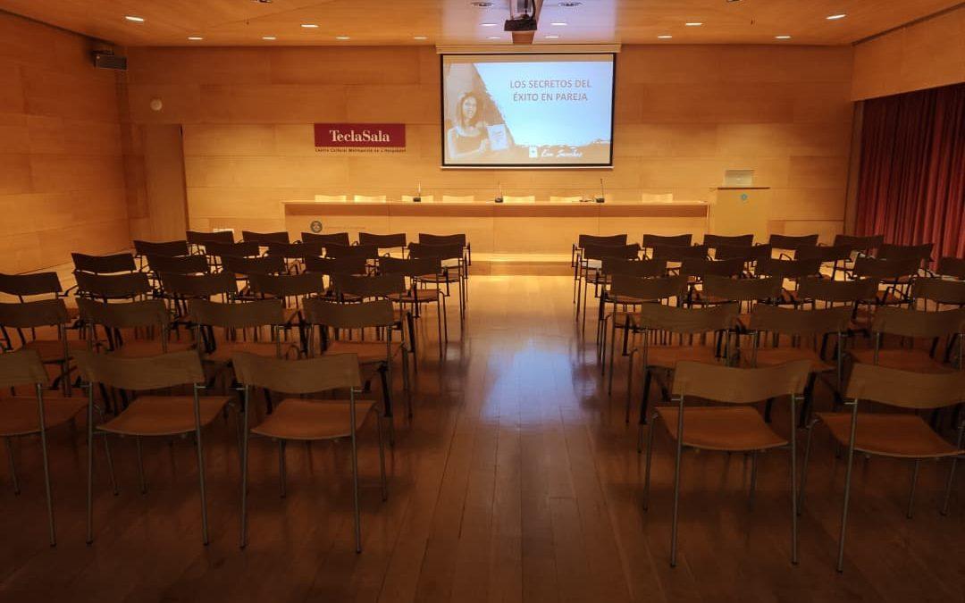 CONFERENCIA GRATUITA EN AUDITORI TECLA SALA (L'HOSPITALET) - Eventos - Eva Sánchez Oficial