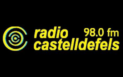 Logo Ràdio Castelldefels - Medios comunicación - Amor Consciente - Eva Sánchez Oficial