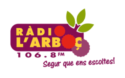 Logo Ràdio L'Arboç - Medios comunicación - Amor Consciente - Eva Sánchez Oficial