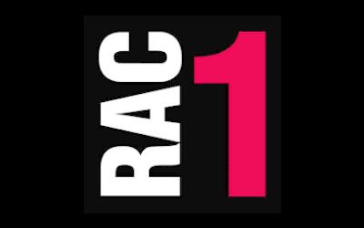 Logo RAC1 - Medios comunicación - Amor Consciente - Eva Sánchez Oficial